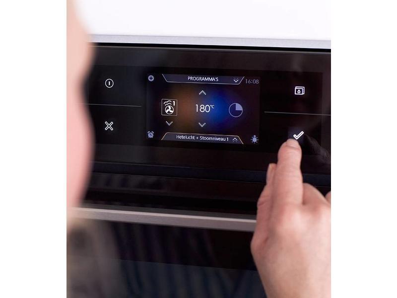 Atag CX4574MN multifunctionele oven met geïntegreerde magnetron en TFT display