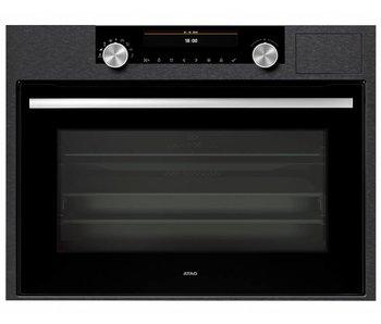 Atag CS4612D combi stoom oven (matrix black steel)