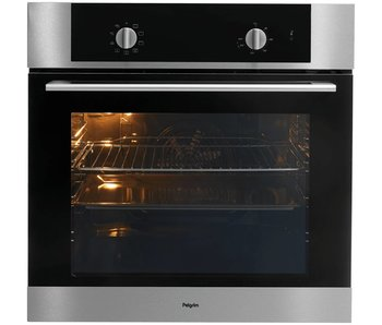 Pelgrim OVM326RVS  hetelucht oven