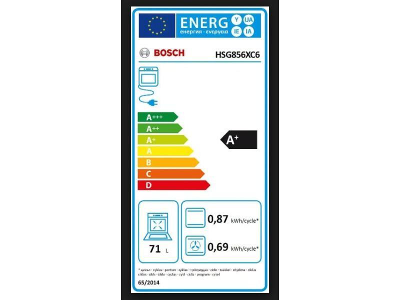 Bosch HSG856XC6  combi-stoomoven