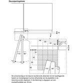 Gaggenau RB492304 400 serie koel-vriescombinatie