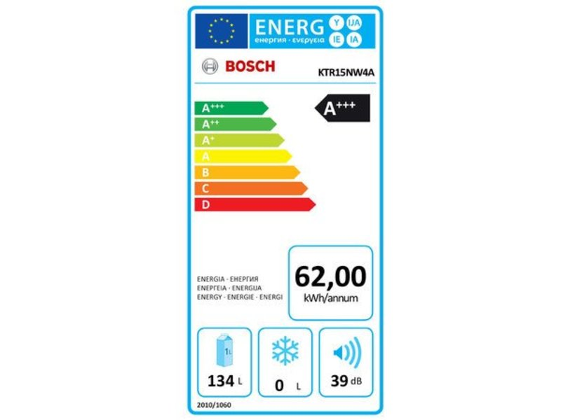 Bosch KTR15NW4A vrijstaande koelkast
