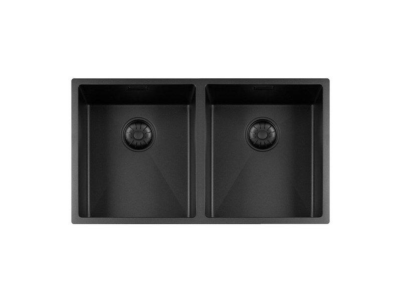 Lorreine 3434R-CLR-BLACK-BLS spoelbak zwart