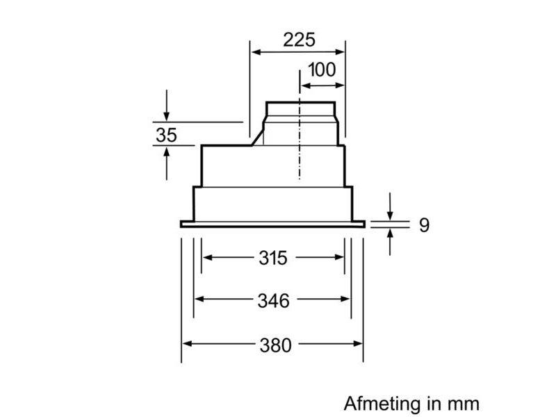 Siemens LB55565 inbouw unit