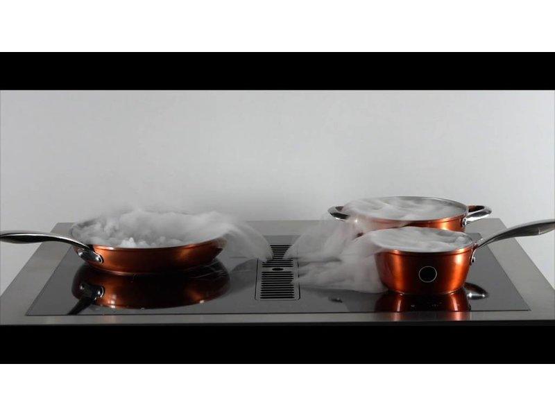 Senza Nome HIKA7720  inductie kookplaat met afzuiging