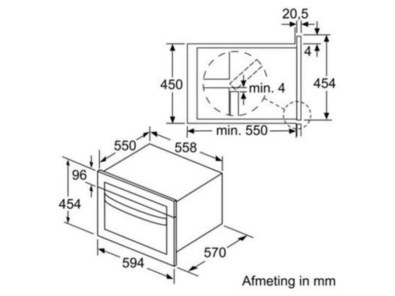 Bosch CMA585MB0  combi magnetron