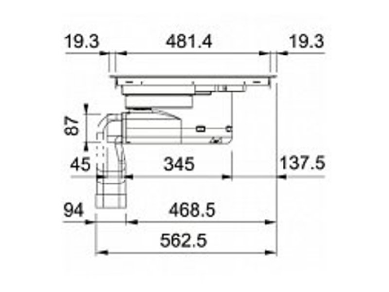 Franke FMY839 inductiekookplaat met afzuiging