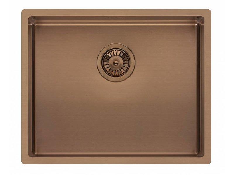Reginox R30738 spoelbak (copper)
