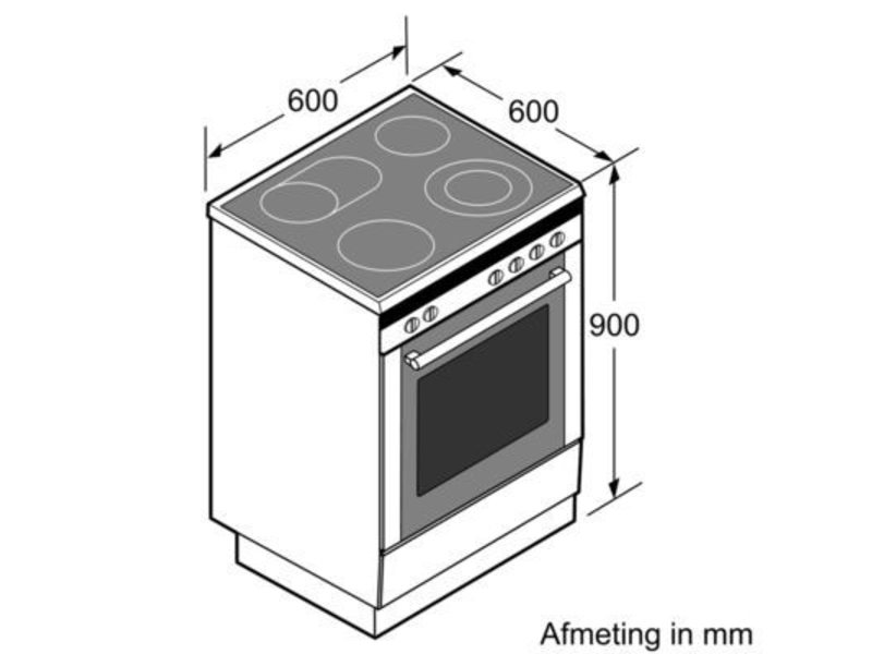 Siemens HL9S7W340  inductie fornuis