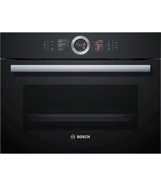 Bosch CSG656RB7 combi stoomoven zwart