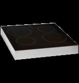 Pelgrim PKI154RVS vrijstaande inductie kookplaat
