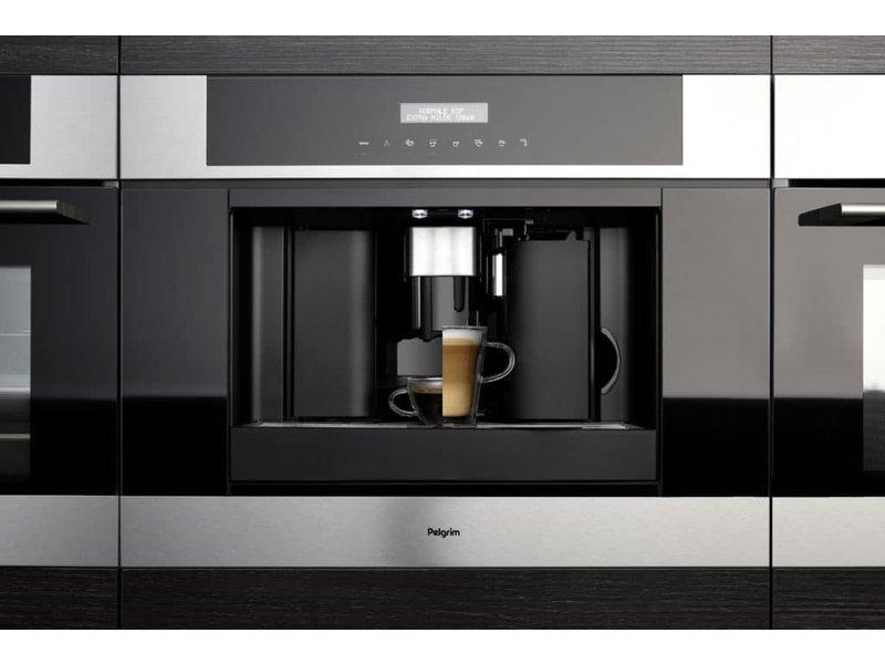 Pelgrim IKM614RVS inbouw koffiemachine