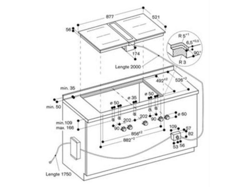 Gaggenau CI422101 inductie kookplaat