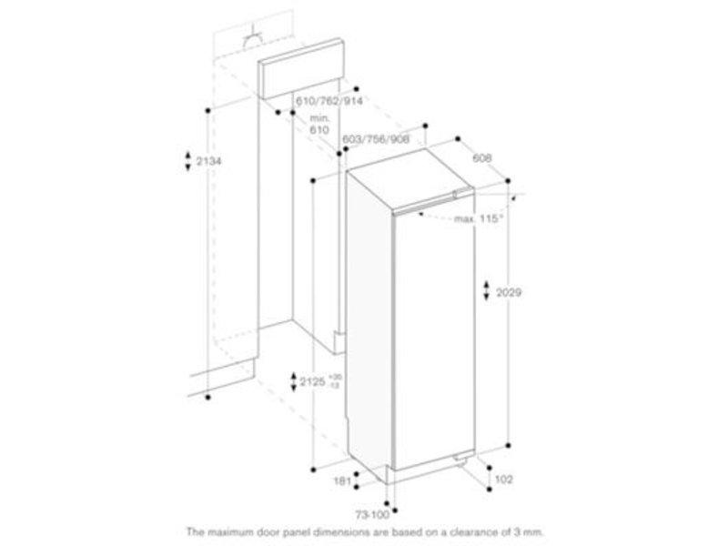 Gaggenau RC462304 inbouw koelkast