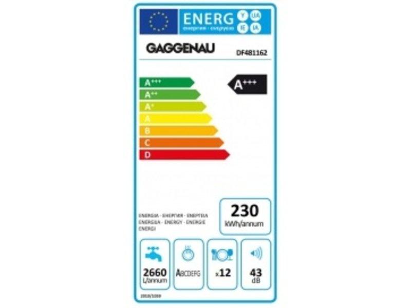 Gaggenau DF481162 inbouw vaatwasser 400serie