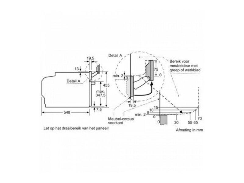 Bosch CSG636BS3 combi stoomoven