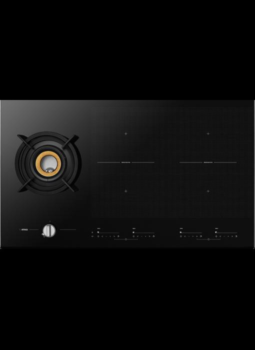 Atag IG9571MBB inductie kookplaat met gas-wokbrander