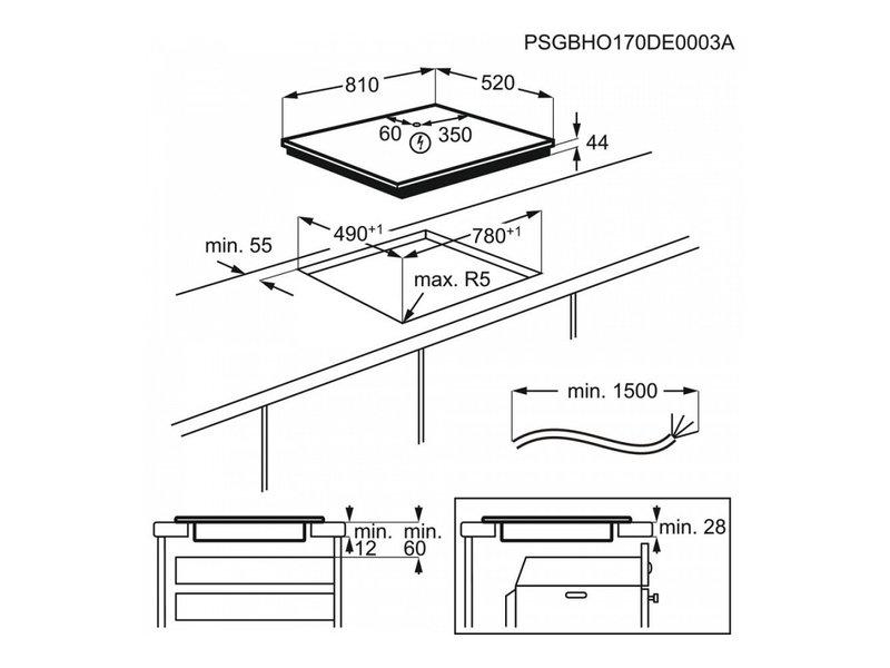 AEG IKE85651FB inductie kookplaat