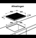 Pelgrim IK4064M inductie kookplaat