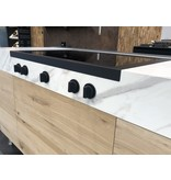 Steel DESIGN40 cooktop