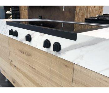 Steel DESIGN40 cooktop