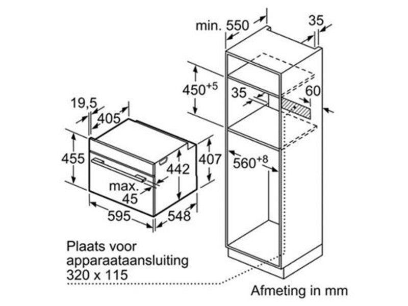 Bosch CMG636BS2 combi magnetron