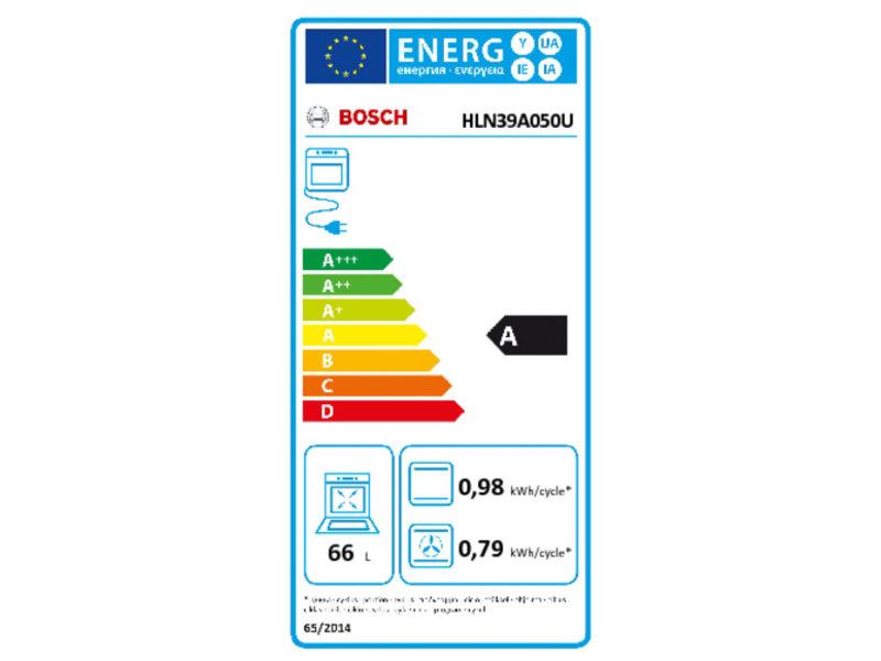 Bosch HLN39A050U vrijstaand inductie fornuis