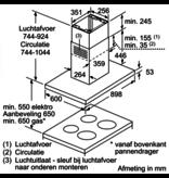 Bosch DIB97IM50 eilandschouw
