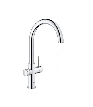 Grohe Red rond Chroom 330380