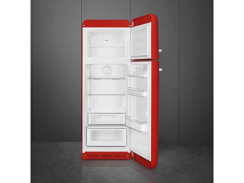 Smeg FAB30RR1 rood vrijstaande koelkast