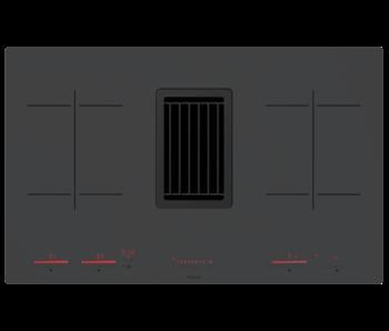 Pelgrim IKR4082M inductie kookplaat met afzuiging