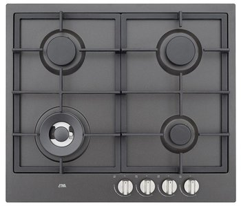 Etna KG959ZTA gaskookplaat met wokbrander 59cm