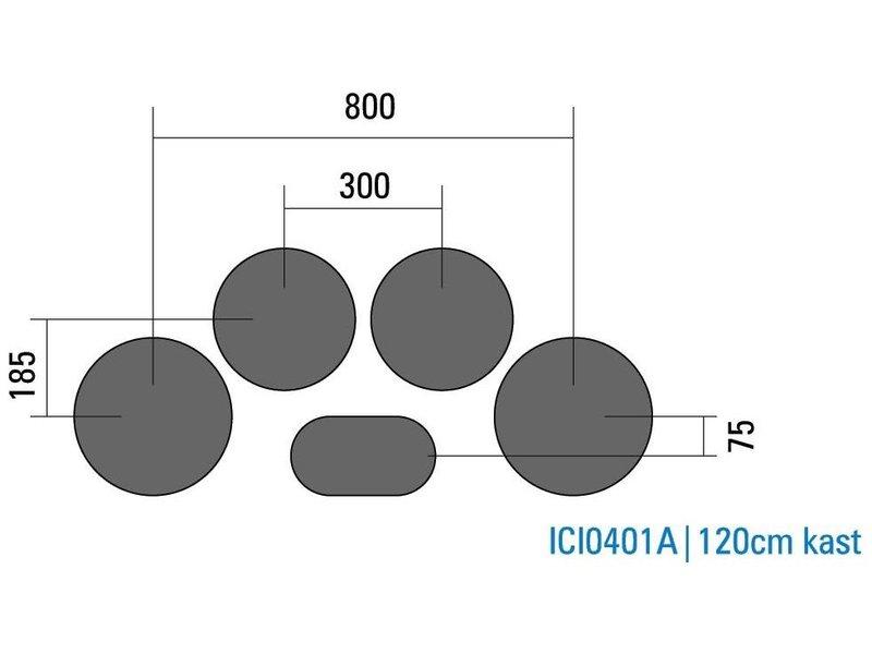 PITT coocking ICI0401 I-COOKING inductie kookplaat