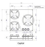 PITT coocking capital-original-ts 53.3 cm
