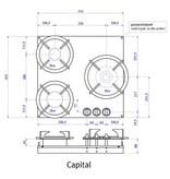 PITT coocking capital-professional-ts 53.3 cm