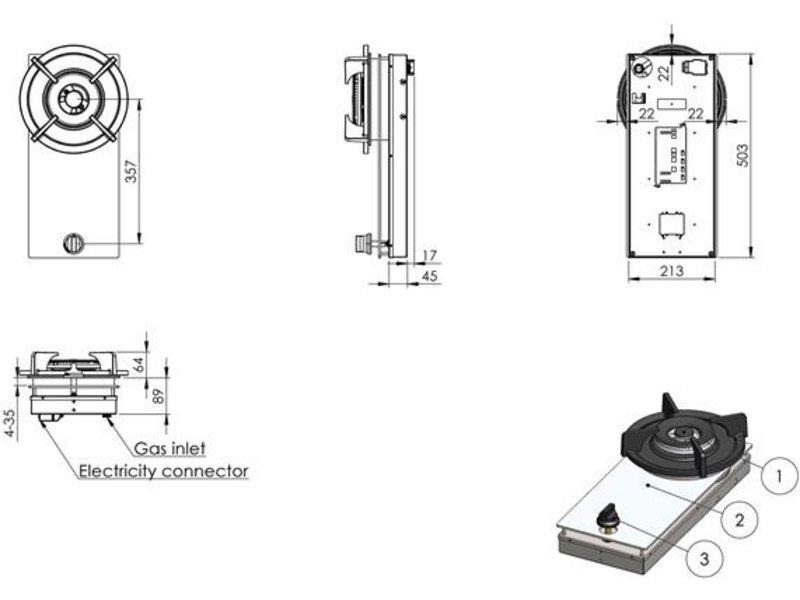 PITT cooking air-professional-ts 21.3 cm