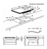 AEG IPE84571FB inductie kookplaat 80 cm