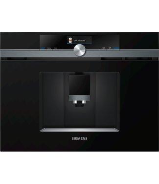 Siemens CT836LEB6 inbouw koffie volautomaat 45 cm