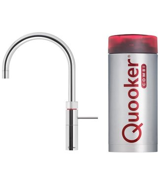 Quooker 22+FRCHR CUBE kokend waterkraan