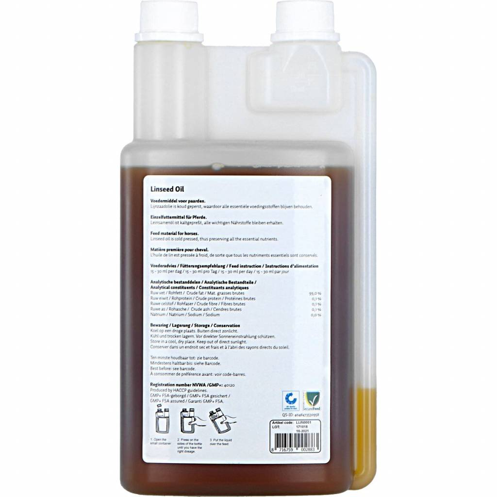 Excellent Linseed Oil Small
