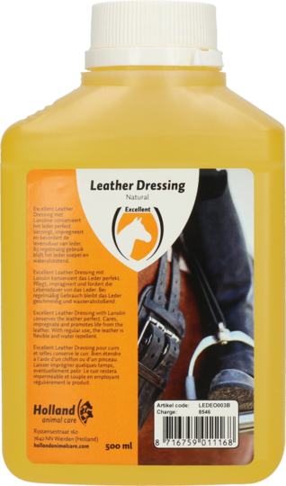 Excellent Leather Dressing
