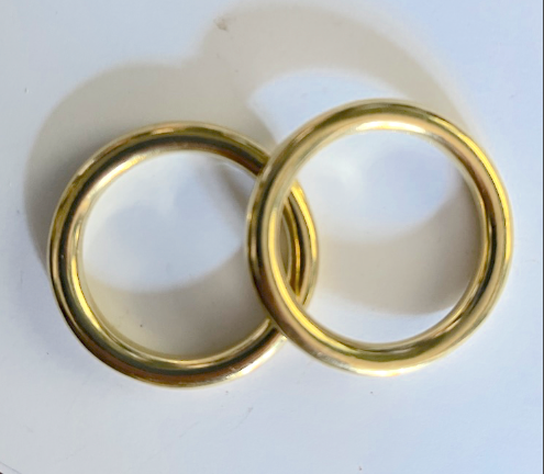 Finesse Rein Rings Gold 42mm