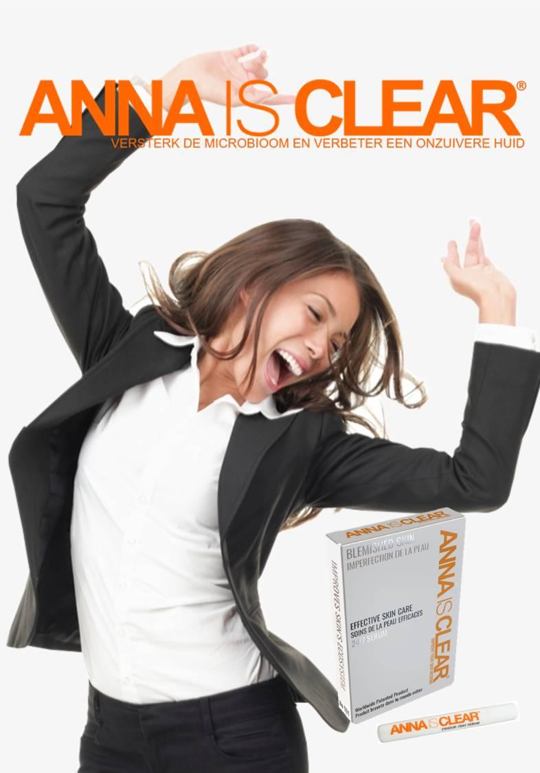 Anna is Clear® enthält nur Inhaltsstoffe, die die Haut stärken. -2