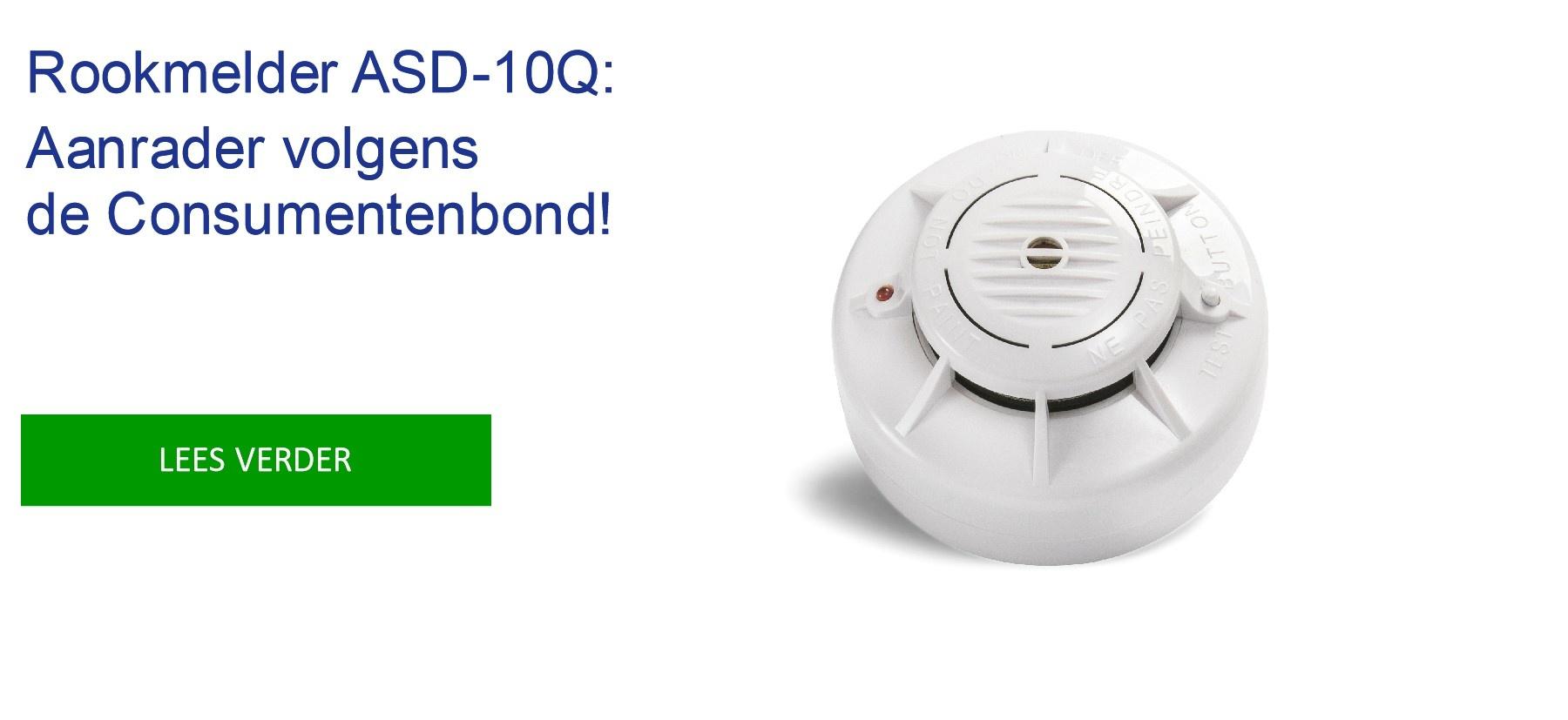 ASD-10Q aanrader volgens de Consumentenbond.
