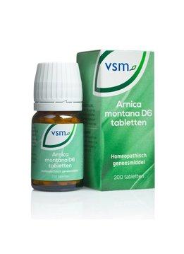 VSM VSM Arnica Montana D6 tabletten - 200st