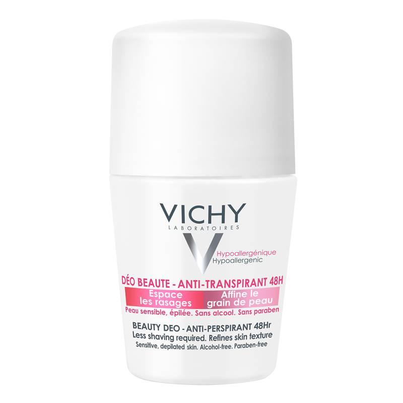 Image of Vichy Anti-transpiratie Beauty Deodorant 48u - roller 50ml