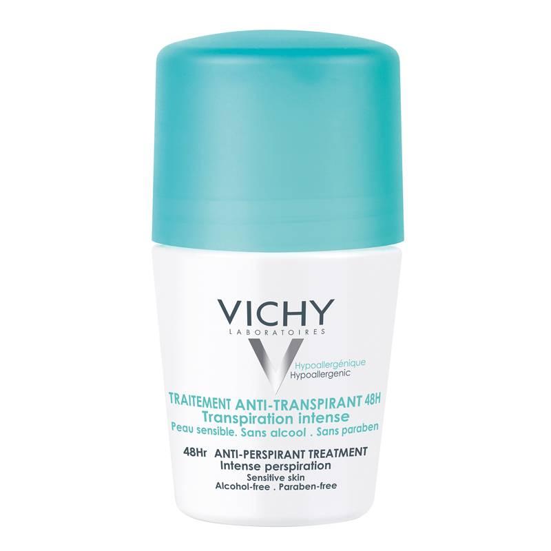 Image of Vichy Anti-transpiratie Verzorging Deodorant 48 uur roller - 50 ml