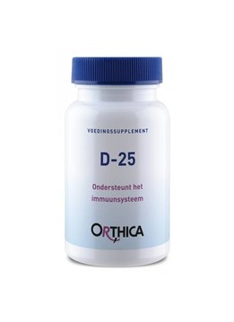 Orthica Orthica D-25 - 120 tabletten