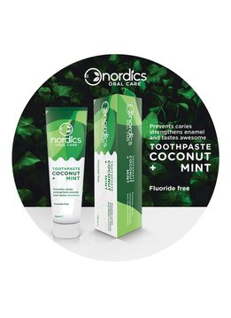 Nordics Nordics Tandpasta Coconut Mint Fluoride Vrij - 75ml