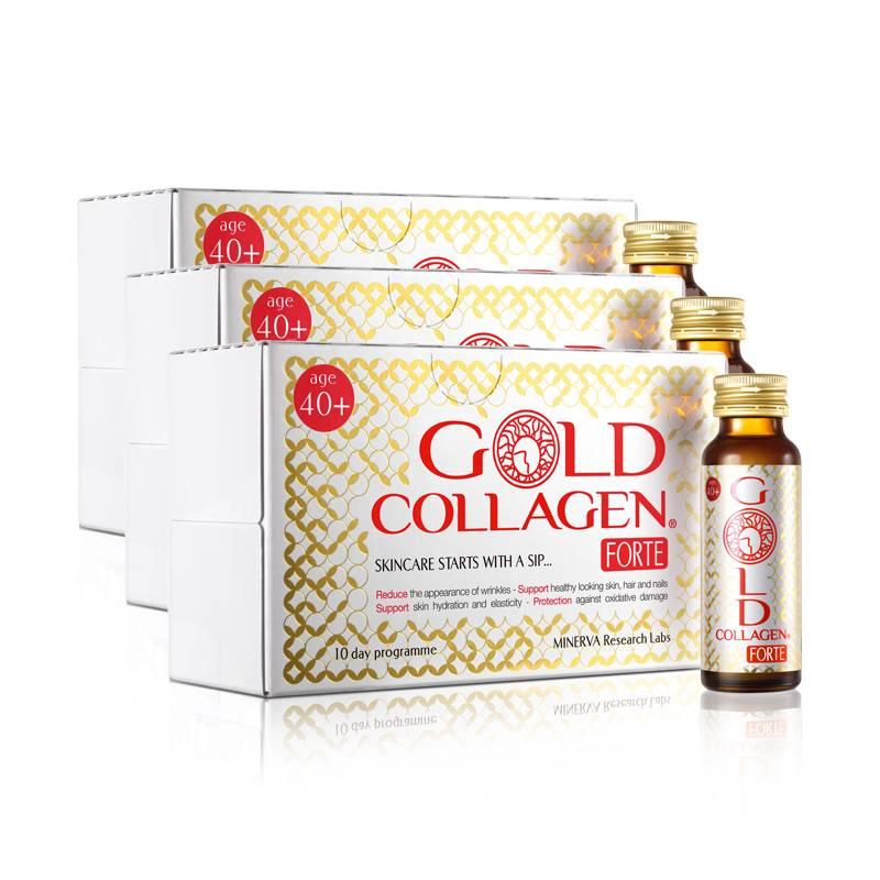 Image of Gold Collagen® Forte - 30 dagen kuur